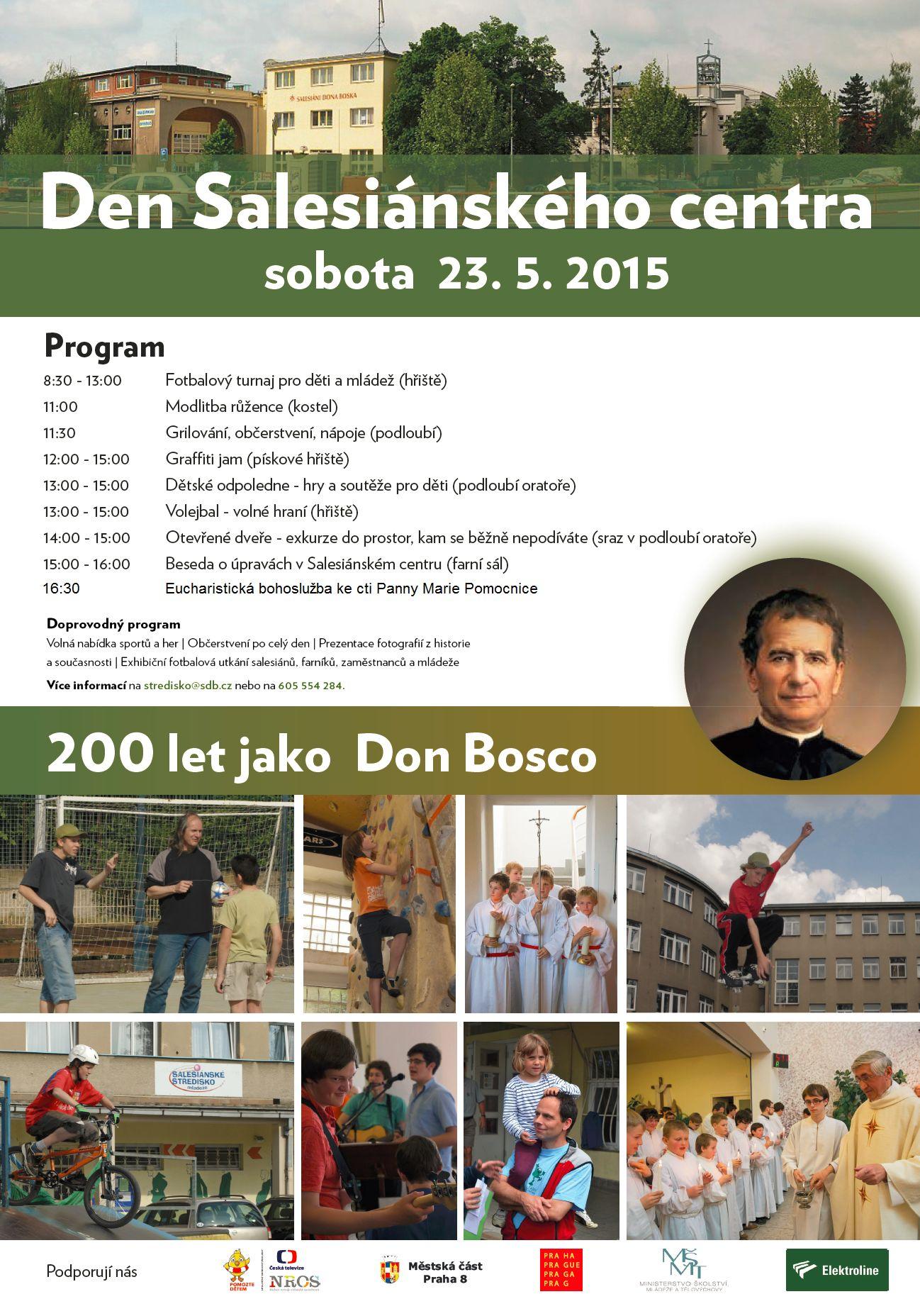 Plakát na DSC 2015