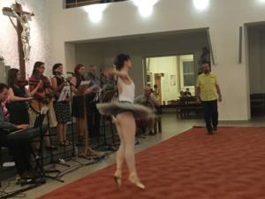 Kobylisy sv.Terezička Píseň písní s baletním vystoupením